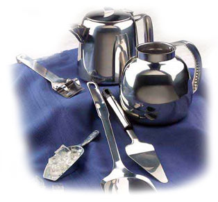 Airline Hollowware and Serving Utensils